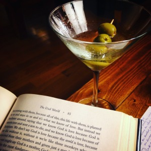 book and martini