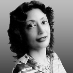 Bharati Mukherjee, Indian American author from Iowa on andreareadsamerica.com