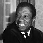 James Baldwin, African American author from New York on andreareadsamerica.com