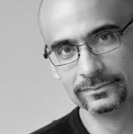 Junot Diaz, Dominican American writer from New Jersey on andreareadsamerica.com