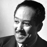 Langston Hughes, African American author from Kansas on andreareadsamerica.com