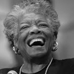 Maya Angelou, African American author from Arkansas on andreareadsamerica.com