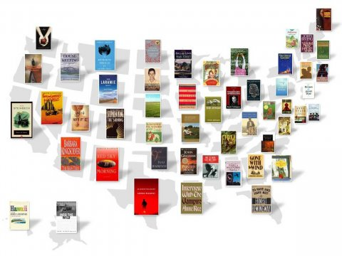 Most Famous Book Set in Every State from Business Insider