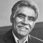 Rudolfo Anaya, Hispanic American author from New Mexico on andreareadsamerica.com