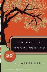 To Kill A Mockingbird by Harper Lee book cover on andreareadsamerica.com