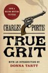 True Grit by Charles Portis book cover on andreareadsamerica.com