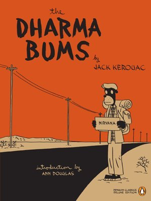 The Dharma Bums by Jack Kerouac nirvana book cover