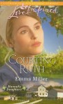 Courting Ruth, an Amish romance by Emma Miller book cover