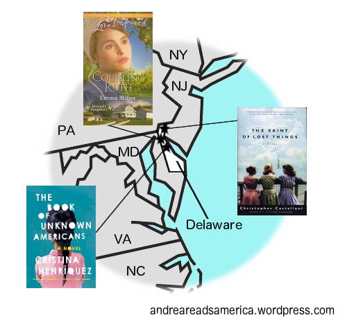 Delaware book map