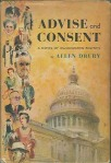 Advise and Consent by Allen Drury book cover