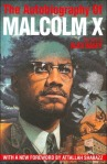 The Autobiography of Malcom X book cover