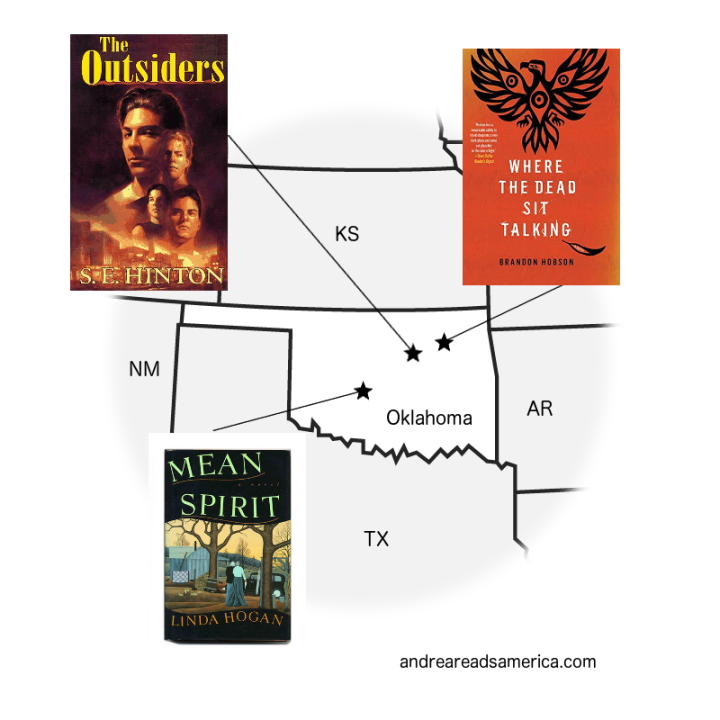 map of oklahoma books