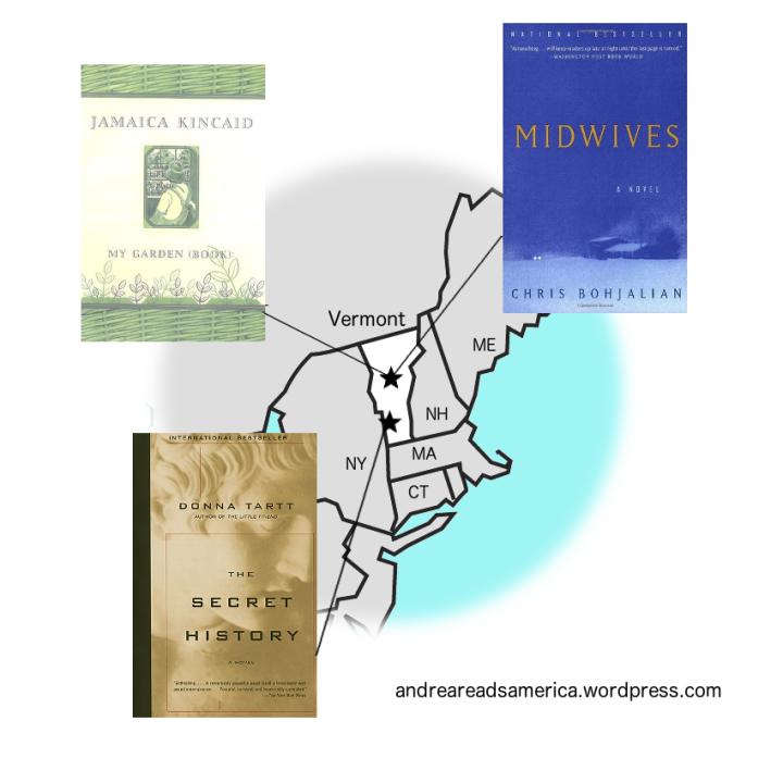 Andrea Reads America books set in Vermont