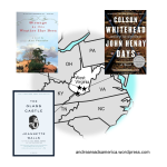 Map of books set in West Virginia